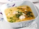 Рецепта Бистра пилешка супа с овесени ядки